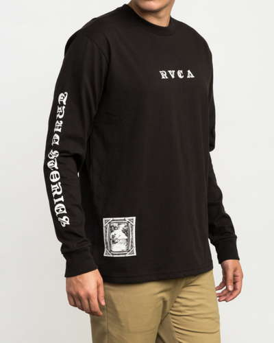 【SALE】RVCA メンズ 【BENJAMIN JEAN JEAN】 JEANJEAN DETENTION LONG SLEEVE T-SHIRT ロングスリーブTシャツ