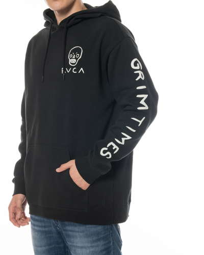 【SALE】RVCA メンズ 【ANDREW POMMIER】 BACK SEAT パーカー